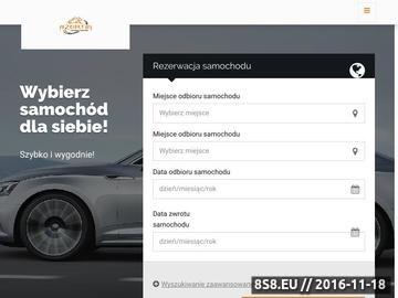 Zrzut strony Wypożyczalnia samochodów Azortin