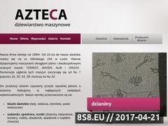 Miniaturka domeny www.azteca.com.pl