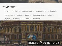 Miniaturka domeny www.azurns.pl