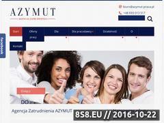 Miniaturka domeny azymut-praca.pl