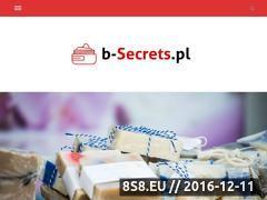 Miniaturka domeny b-secrets.pl