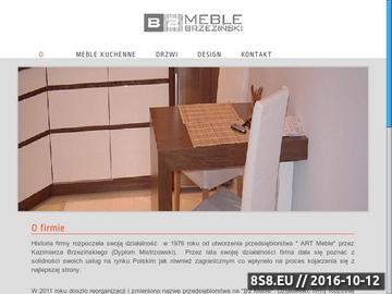 Zrzut strony Meble i drzwi na wymiar