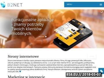 Zrzut strony Agencja interaktywna - tworzenie stron WWW, reklama w internecie