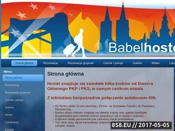 Zrzut strony Hostel Wrocław