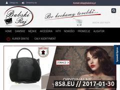Miniaturka domeny babskiraj.pl