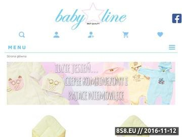 Zrzut strony Ubranka dla niemowląt