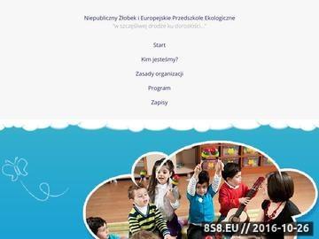 Zrzut strony Przedszkole w Warszawie - Baby City
