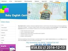 Miniaturka domeny www.babyenglishcenter.pl