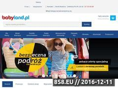 Miniaturka domeny www.babyland.pl