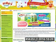 Miniaturka domeny babymeble.pl