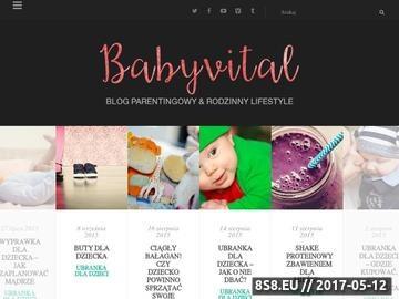 Zrzut strony Artykuły dla dzieci i niemowląt
