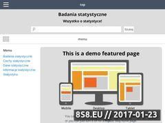 Miniaturka domeny www.badaniastatystyczne.pl