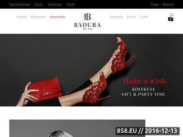 Zrzut strony Badura - obuwie męskie