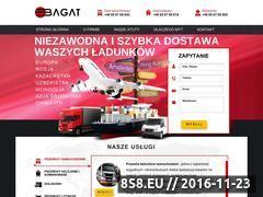 Miniaturka domeny www.bagat.eu