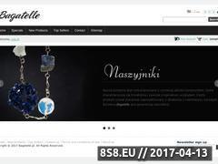 Miniaturka domeny www.bagatelle.pl
