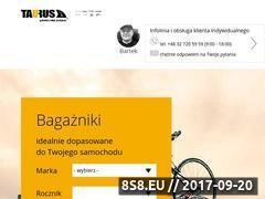 Miniaturka domeny www.bagaznikisklep.pl