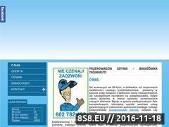 Miniaturka domeny www.bagazowka-gda.pl