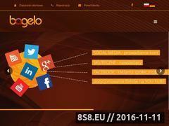 Miniaturka domeny www.bagelo.pl