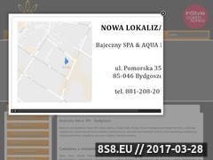 Miniaturka domeny www.bajecznyspa.pl