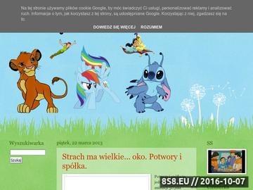 Zrzut strony Bajki dla dzieci