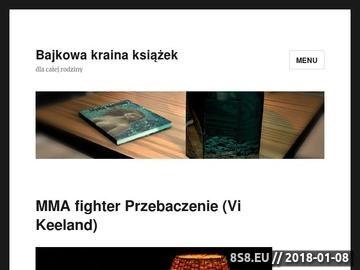Zrzut strony Bajkowa Kraina zamiast tradycyjnego przedszkola w Żywcu