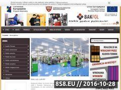 Miniaturka domeny www.bakpol.pl