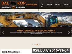 Miniaturka domeny www.bal-kop.pl