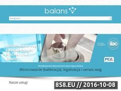 Miniaturka domeny balans-wagi.pl