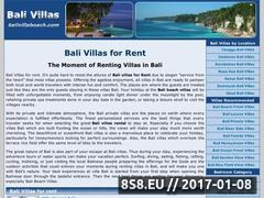 Thumbnail of Bali Villas For Rent Website