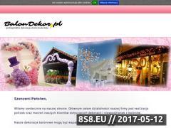 Miniaturka domeny www.balondekor.pl