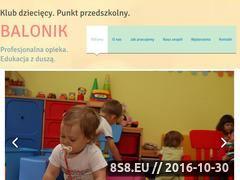 Miniaturka domeny www.balonik-mp.com