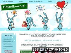 Miniaturka domeny www.balonikowo.pl