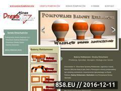 Miniaturka domeny www.balony-reklama-event.pl