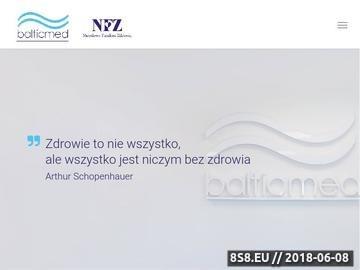 Zrzut strony Przychodnia Szczecin Warszewo