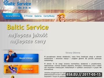 Zrzut strony Baltic Service klimatyzacja