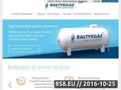 Miniaturka domeny www.baltykgaz.pl