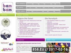Miniaturka domeny www.bambamstudio.pl
