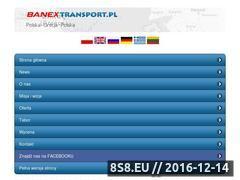Miniaturka domeny www.banextransport.pl