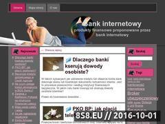 Miniaturka domeny www.bank-internetowy.biz.pl
