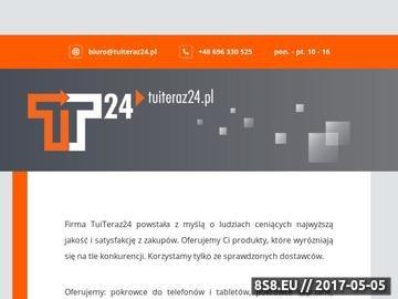 Zrzut strony BANK.tuiteraz24.pl - kredyty, pozyczki, ubezpieczenia