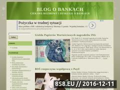 Miniaturka domeny www.bankblog.com.pl
