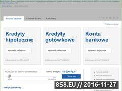 Miniaturka domeny www.banki-online.com.pl