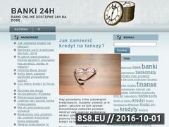 Miniaturka domeny banki24.net.pl