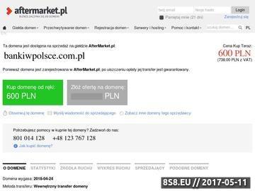 Zrzut strony Największe banki w Polsce