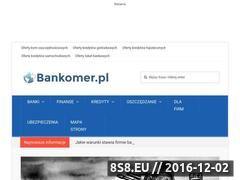 Miniaturka domeny www.bankomer.pl