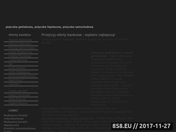 Zrzut strony Lokaty., Kredyty, gotówkowe,pożyczki,Konta bankowe