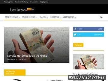 Zrzut strony Bankowynet.pl - pożyczki