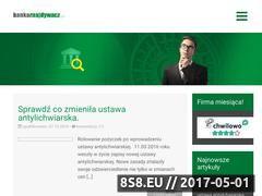 Miniaturka domeny www.bankoznajdywacz.pl
