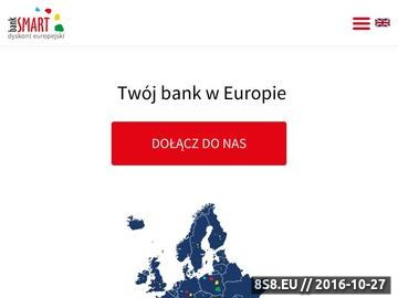 Zrzut strony Bankowość Mobilna
