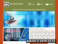 Download barcode maker and greeting card maker software Website